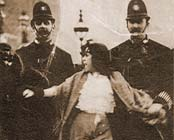 Dora Thewlis arrest, March 1907
